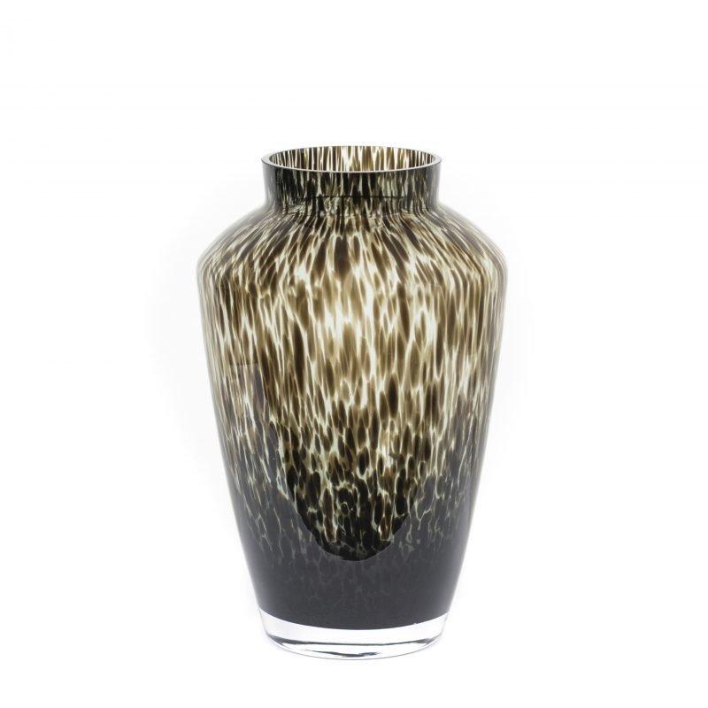 Hudson cheetah vase grey