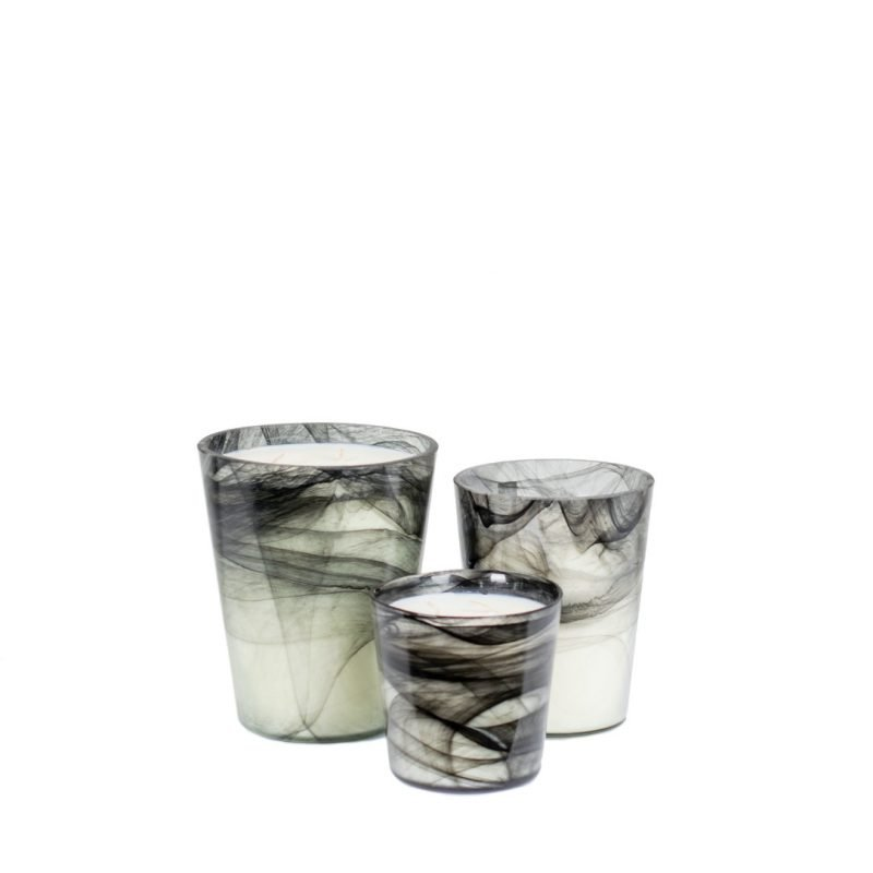 Scented candle Noa marble