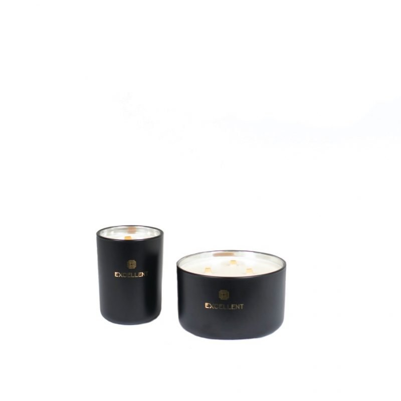 Scented candle exclusive black