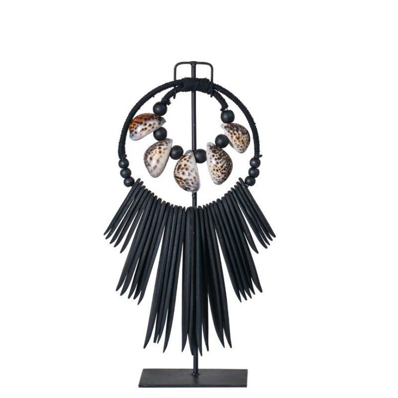 Octo necklace black