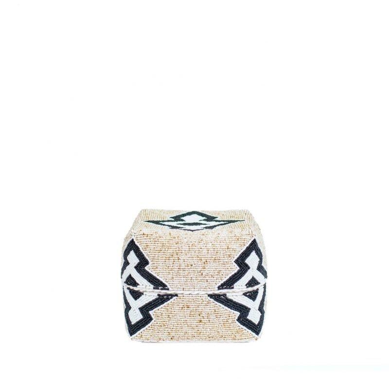 Boxes Maya black beige