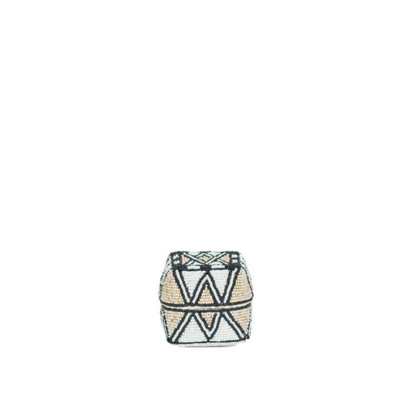 Boxe Reva XS white beige black