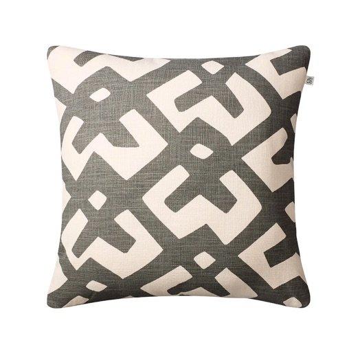 Cushion outdoor Dadra grey off-white