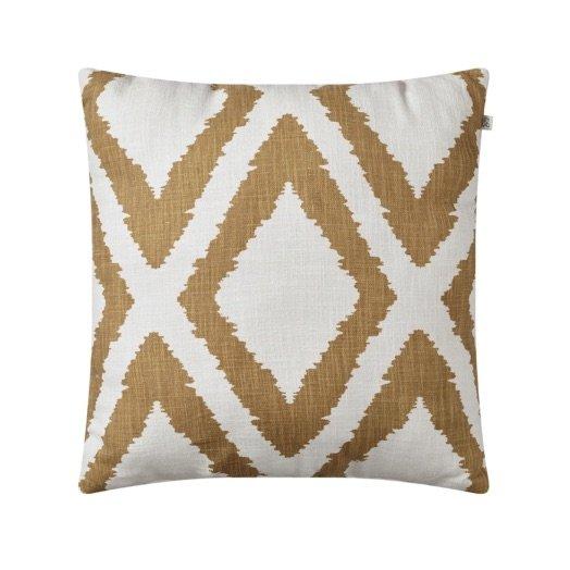 Cushion outdoor Diamond beige off-white