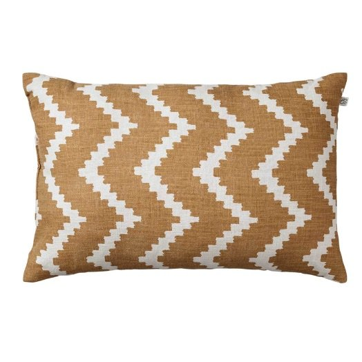Cushion outdoor Sema ikat beige off-white